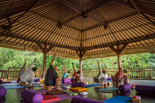 Yoga at ONEWORLD Ayurveda Bali
